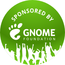 Sponsored by the GNOME Foundation!